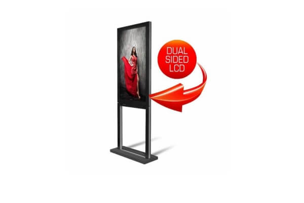 55 Zoll - 3.000 dual sided